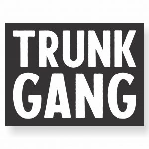 the original trunk gang sticker