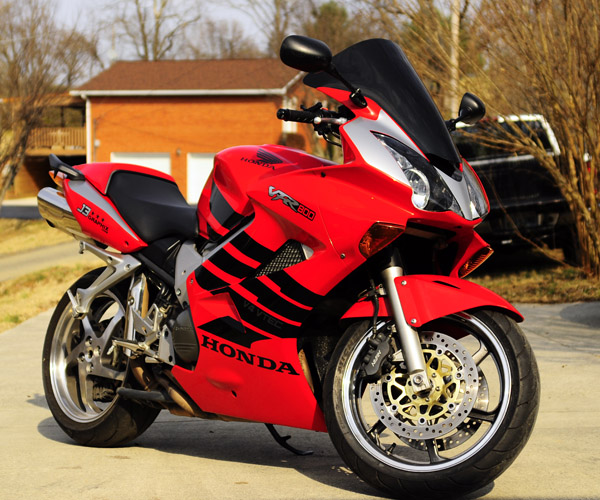 VFR800 with graphics kit